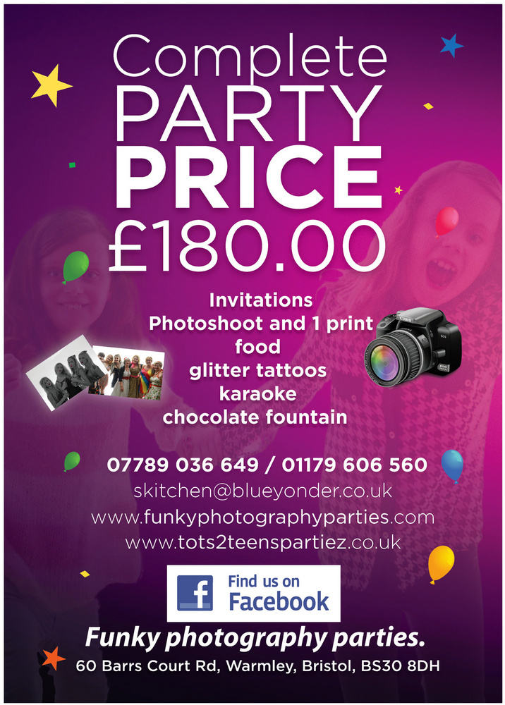 Funky Photography Parties | Event Photography Bristol