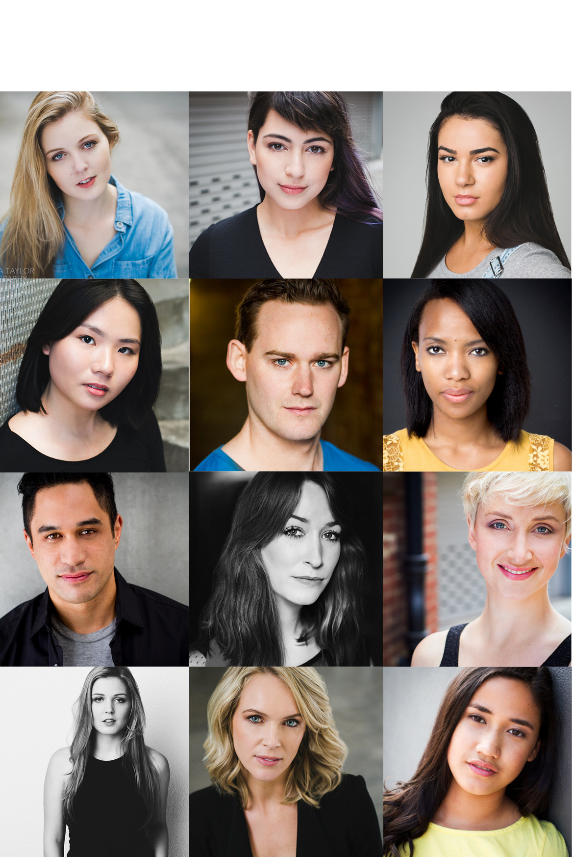 Pricing - Actor and Dancer Headshot Portfolios