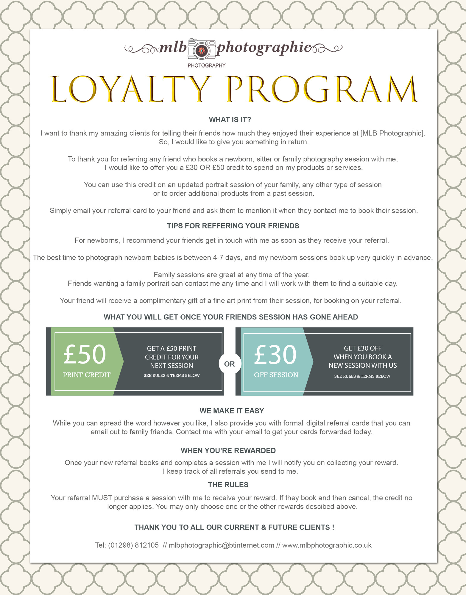 MLB LOYALTY PROGRAM